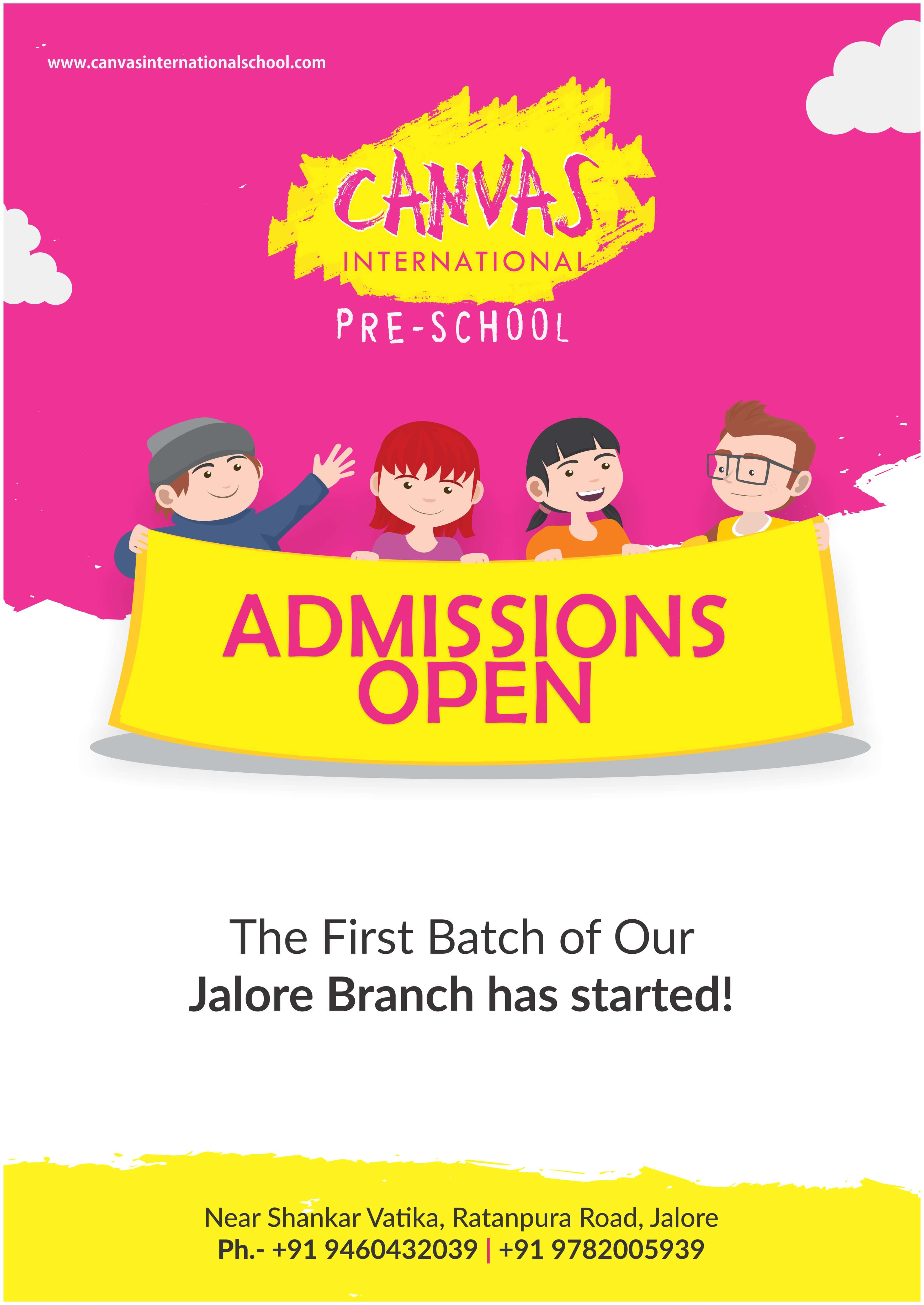 Canvas International - Jalore Batch Started for 2017